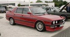 BMW E28 Hartge H5 in rot