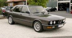 BMW E28 Facelift dunkelbraun metallic