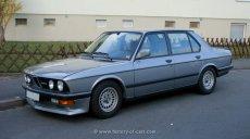 BMW E28 520i Facelift mit Spoiler-Front