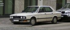 BMW E28 Facelift weiß