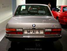 BMW E28 M5 BMW-Museum